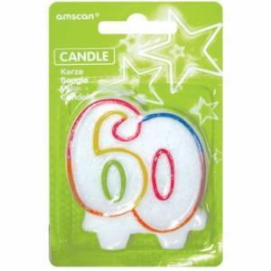 sviečka číslo 60