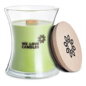Sviečka zo sójového vosku We Love Candles Green Tea, doba horenia 64 hodín