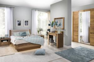 Szynaka Manželská posteľ Velvet 74 Farba: Sivá