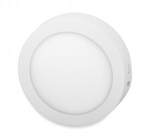 T-LED Biely prisadený LED panel guľatý 115mm 6W Farba svetla: Denná biela 10281