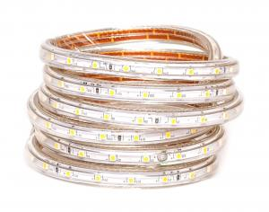 T-LED LED pásik 3,5W/m 230V s krytiem IP67 Farba svetla: Teplá biela 07602