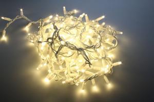 T-LED LED svetelný reťaz 12W 230V 10M Farba svetla: Teplá biela