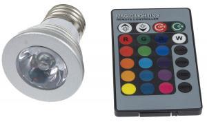 T-LED LED žiarovka RGB 3W E27 02103