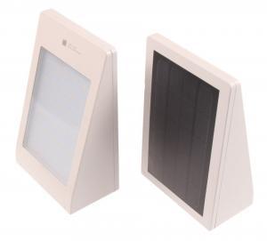 T-LED Solárne fasádne svietidlo s pohybovým čidlom biele Farba svetla: Studená biela