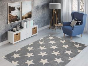 TA Detský koberec Parma 120x170 - sivý