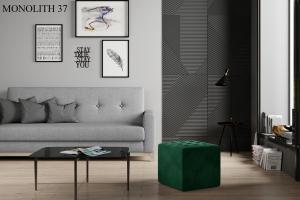 Taburet NOLLA 40 x 40 x 41 cm Provedení: Monolith 37