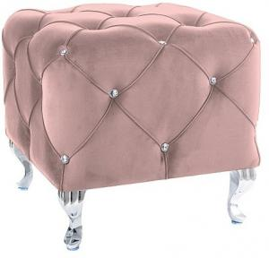 Taburetka:   HESTIA K VELVET SIGNAL - stoličky/ kreslá: Látka Bluvel 59 bordová