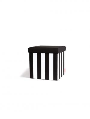 Taburetka s vekom Black&White