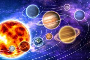 Tapeta Vesmír - Planéty 183 - vliesová