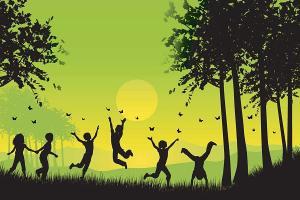 Tapety do detskej izby - Zelený svet 3287 - vliesová