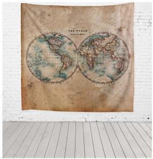 Tapiséria z mikrovlákna Really Nice Things World, 140×140 cm