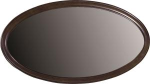 TARANKO Verona V-L rustikálne zrkadlo na stenu hnedá