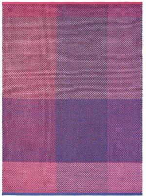TED BAKER Check Burgundy 56400, ružová/fialová