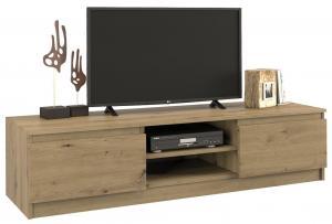 Televizní stolek Risan 140 cm hnědý