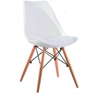 Tempo Kondela Biela stolička KEMAL NEW