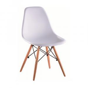 TEMPO KONDELA Cinkla 3 New jedálenská stolička biela / buk