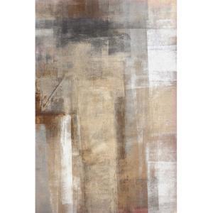 KONDELA Esmarina Typ 1 koberec 180x270 cm hnedá / sivá