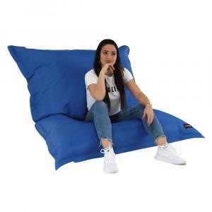 KONDELA Getaf sedací vak modrá