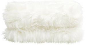 Tempo Kondela Kožušinová deka, biela, 150x180, EBONA TYP 1