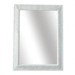KONDELA Malkia Typ 14 zrkadlo na stenu bielozlatá