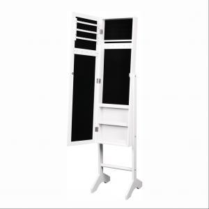 KONDELA Miror New stojace zrkadlo biela