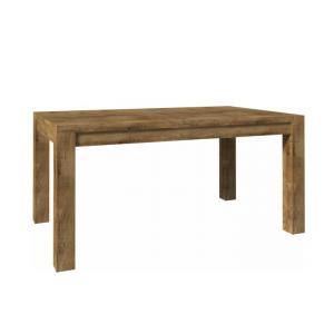 TEMPO KONDELA Nevada ST 160 jedálenský stôl dub lefkas tmavý