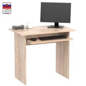 Tempo Kondela PC stôl, dub sonoma, VERNER NEW