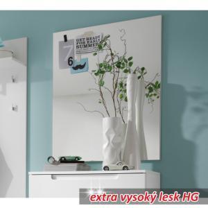 TEMPO KONDELA Space zrkadlo na stenu biela