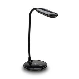 Stolná LED lampa, čierny lesk, WO30-B