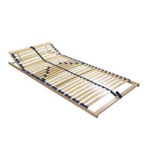 TEMPO KONDELA Twinflex polohovateľný lamelový rošt 90x200 cm brezové drevo