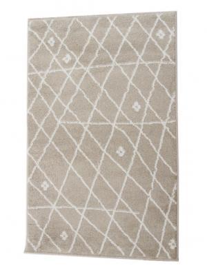 TEMPO KONDELA Tyron koberec 160x235 cm béžová / biela