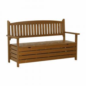 Tempo Kondela, Záhradná lavička, hnedá, 150cm, AMULA