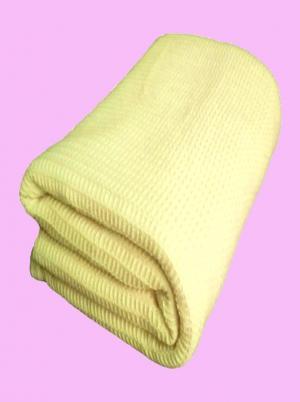 Termodeka Homa žltá - 90 x 130 cm