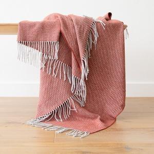 Terra Cota Cotton Throw Valeria
