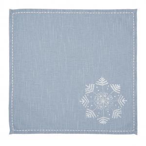 Textilné obrúsok Winter Wishes - 40 * 40 cm - sada 6ks