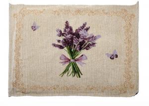 Textilné prestieranie Dakls Easter Deco Levander Simple, 48×33 cm