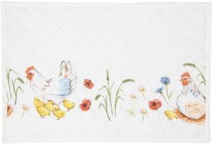 Textilné prestieranie Easter and Spring  - 48*33 cm - sada 6ks