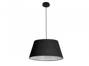 Textilné svietidlo AZZARDO OLAV pendant black AZ1392