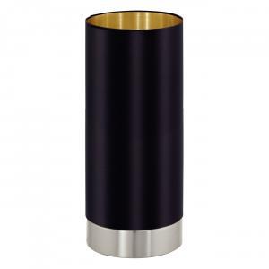 Textilné svietidlo EGLO MASERLO E27 čierna 95117