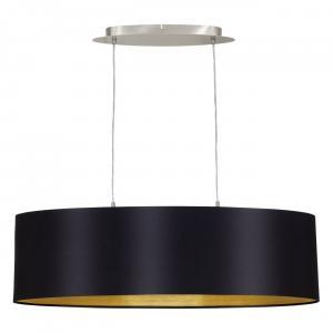 Textilné svietidlo EGLO MASERLO čierna/zlatá 31611