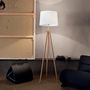 Textilné svietidlo IDEAL LUX York  PT1  Wood 089805