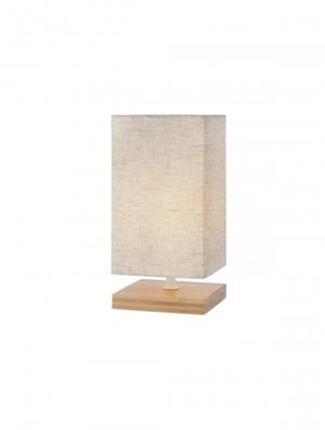 Textilné svietidlo REDO FOUR VE 1X28W  E14 WOOD 01-1375