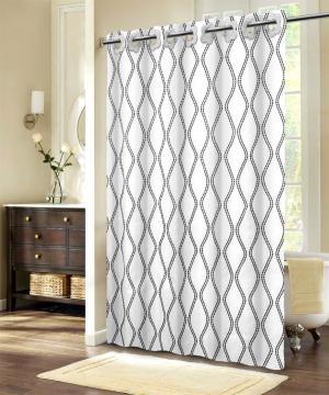 Textilný sprchový záves SC1002A 150x200, 180x200 - 180x200