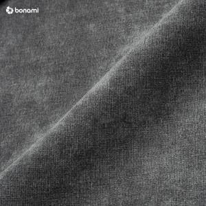 Tmavosivá rohová pohovka MESONICA Musso Tufted, ľavý roh
