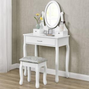 Toaletný stolík Lena - biely