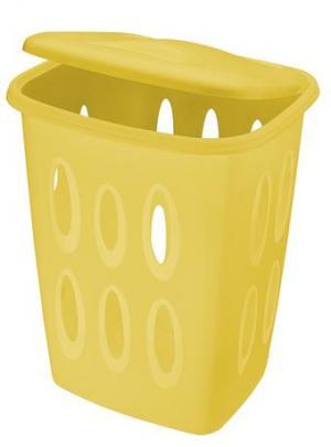Tontarelli Plastový kôš na špinavú bielizeň TONTARELLI 45l žltý