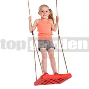 TOPGARDEN Detská hojdačka Foot swing červená Foot swing red