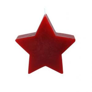 "TORO Sviečka ""hviezda"" červená"