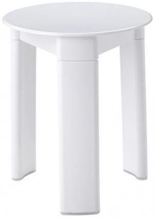 Trio 2072 kúpeľňová stolička, priemer 33x40 cm, biela