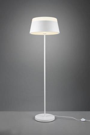 TRIO 408900331 Baroness Stojanová lampa 450mm E27 3X15W Matná biela
